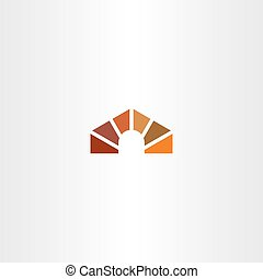 dog house vector logo icon element