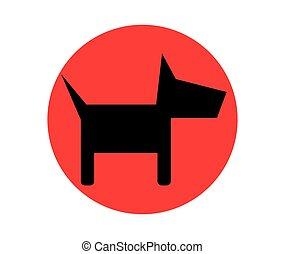 Dog Icon Design