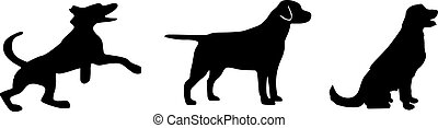 dog icon on white background