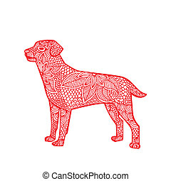 Dog illustration- Chinese zodiac