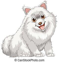 Dog - Illustration of a close up dog