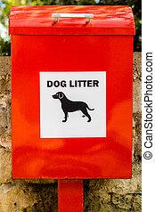 Dog Litter Bin