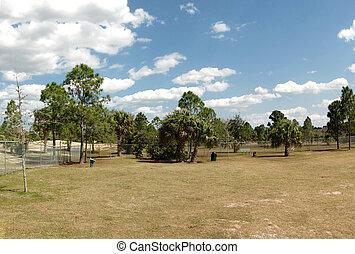 Dog Park in Palm Bay Florida