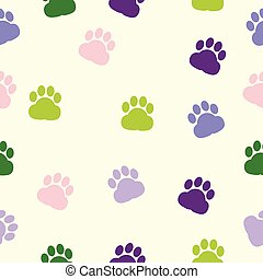 dog paws, pattern, print, trace, color, animal adoption
