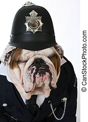 dog police or catcher