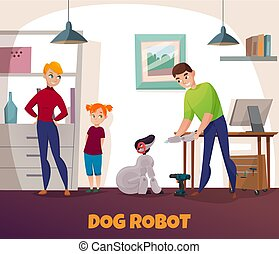 Dog Robot Repair