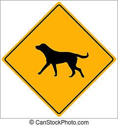 Dog Sign Vector