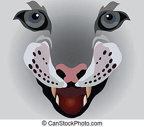 dog-teeth, lady-cat