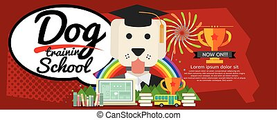 Dog Training School Banner