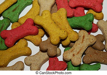 Dog treats macro