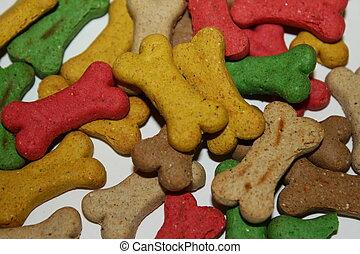 Dog treats macro