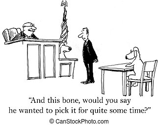 """Dog wanted to pick a time for some time - """"And this bone,..."""