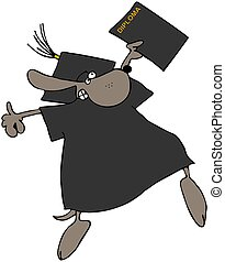 Dog With A Diploma