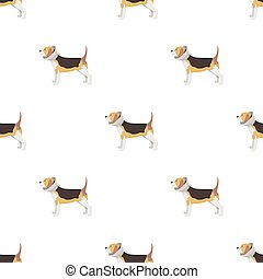 Dog with elizabethan collar icon in cartoon design isolated on white background. Veterinary clinic symbol stock vector illustration.