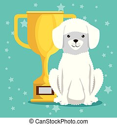 dog with trophy pet friendly