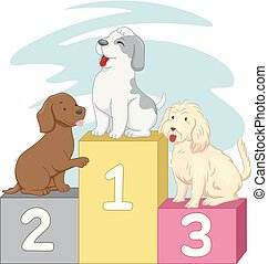 Dogs Contest Winners Illustration