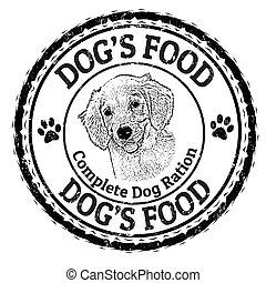 Dog's food stamp