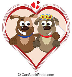 Dogs in the heart