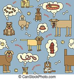 Dogs Thinking Pattern