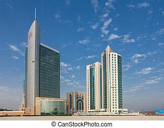 Qatari desert  A view of the desert in south qatar, near al
