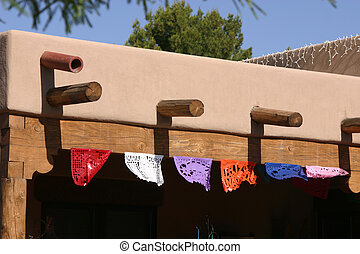 Doilies on Display in Tubac