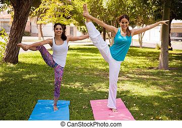 doing a leg split upside down flexible woman doing a