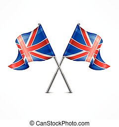 dois, bandeira britânica