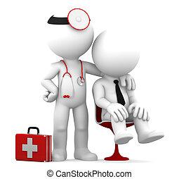 doktor, patient