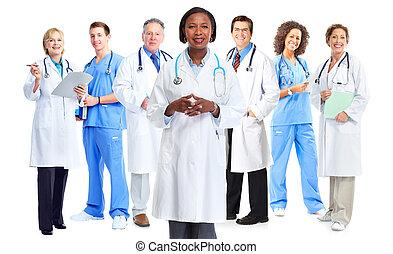 doktorer, gruppe
