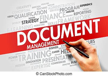 dokument, ledelse