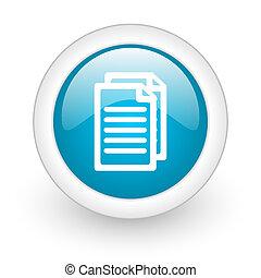 dokument, nät, knapp