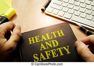 Dokument, titel, Hälsa, holdingen, räcker, säkerhet