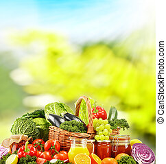 dokumentowany, warzywa, dieta, surowy, zrównoważony, organiczny