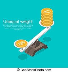 dolar, monety, symbol