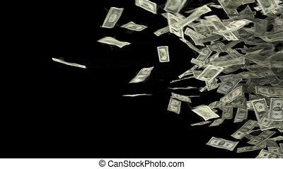 dolar, przejście