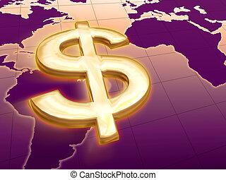 dolar rule the world