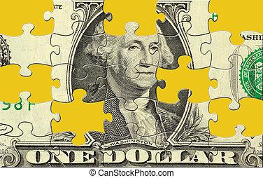 dolar, zagadka