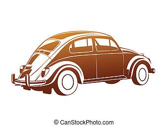 dolce, caramello, vecchio, auto