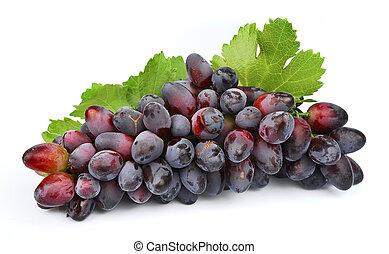dolce, frutta, uva