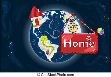 dolce, terra, casa, -