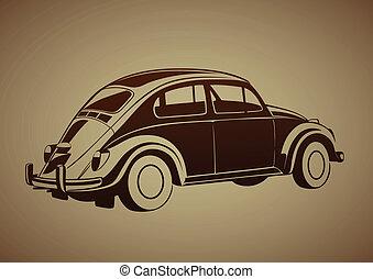 dolce, vecchio, auto
