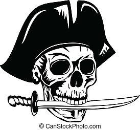 dolch, pirat