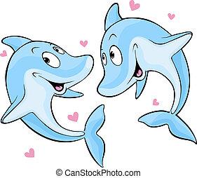dolfijn, liefde