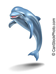 dolfijn, sprong