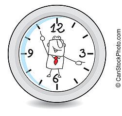 dolgozó, idő