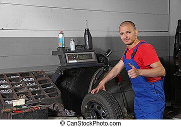 dolgozó, mechanist