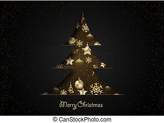 dolgozat, black, fa, karácsony, elvág