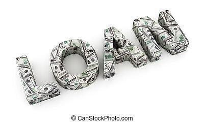 dollár, kölcsönad
