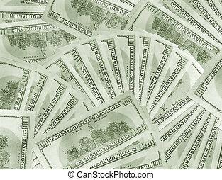 dollárok, háttér