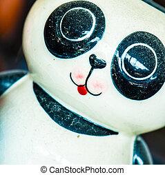 doll background - head ceramic doll handmade fun background